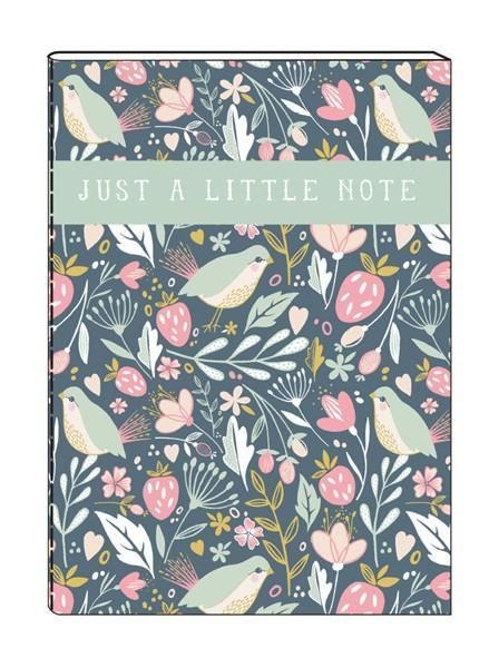 The Artfile Set of 2 A6 Notebooks - ash-dove