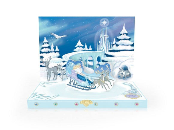 The Snow Queen Musical pop up card by My Design Collections - ash-dove