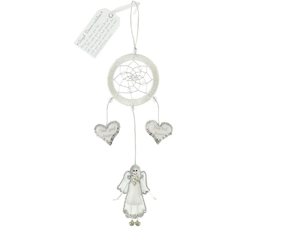 White Angel Dream Catcher by Believe You Can - Ash & Dove