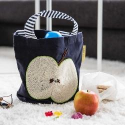 Apple Design Beaded Mini Bag by Artebene - Ash & Dove