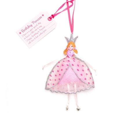 Believe You Can Birthday Princess Hanging Gift - ash-dove