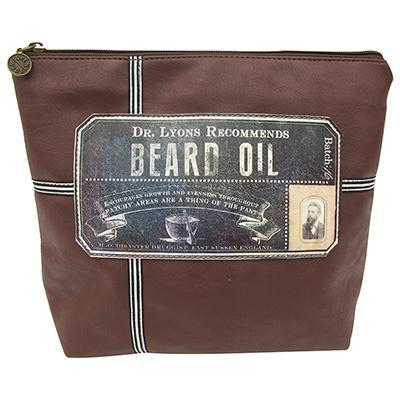Beard Oil Wash Bag for men
