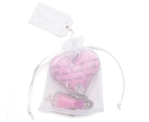 Believe You Can Angel Pink Love Blessing hanging - ash-dove
