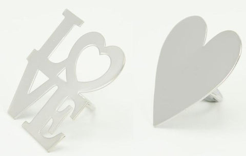 Retreat Home Candle Jewellery - Love or Hearts - ash-dove