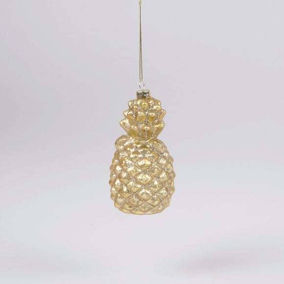 Glass Pineapple Bauble