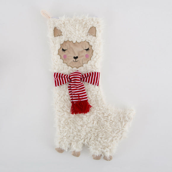 Fa La La Llama Christmas Stocking by Sass & Belle - ash-dove