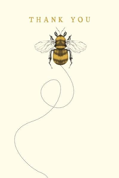 The Artfile Bee Note Card Boxed Set - ash-dove