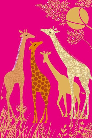 The Artfile Giraffes Note Card Boxed Set - ash-dove