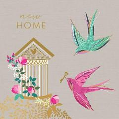 The Artfile New Home Greeting Card - ash-dove
