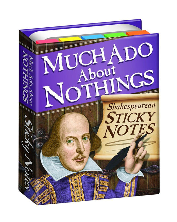The Unemployed Philosopher's Guild Shakespearean Sticky Notes - Ash & Dove