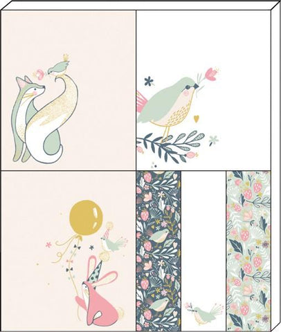 The Artfile Wild Berry Sticky Note set - ash-dove