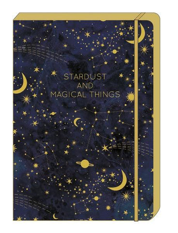 Stardust A5 Note Book by The Art File - ash-dove