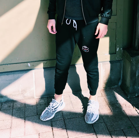 Patch Logo Joggers - Blue Expression