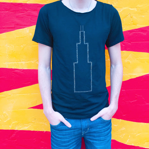 3M Reflective Sears Tower Shirt - Blue Expression