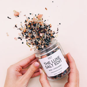 THE LUXE SALT EDIT - HAWAIIAN BLACK LAVA SALT