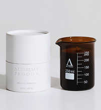 210GRAM AMBER BEAKER CANDLE - Coconut & Lime