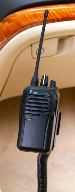 Seat Bolt Mount For All Icom Portables