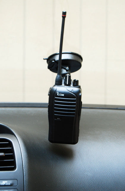 Suction Cup Mount For All Icom Portables