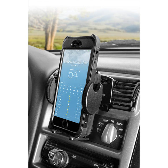 Mega Grip Air Vent Phone Car Holder Mount for iPhone X, 8, 7, 6S Plus, 8, 7, 6S, Galaxy Note 8, S8