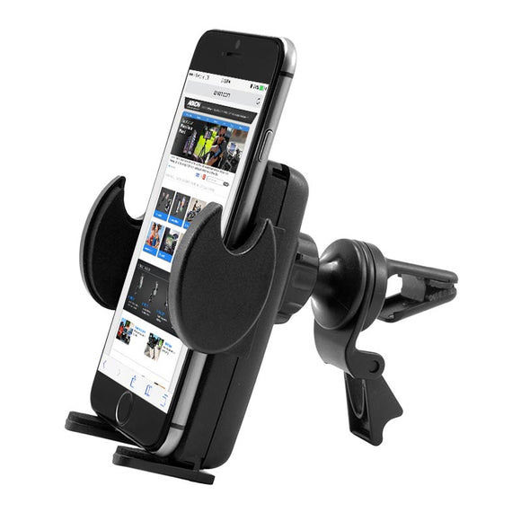 Mega Grip Air Vent Phone Car Holder Mount for iPhone X, 8, 7, 6S Plus, 7, 6S, Galaxy Note 8, S8, S7