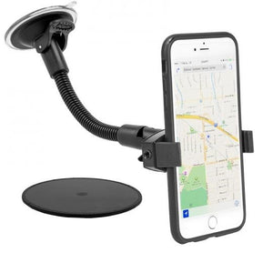 "Mobile Grip 2 Windshield Suction Car Mount with 8.5"" Arm for iPhone X, 8, 7, 6S Plus, iPhone 8, 7"