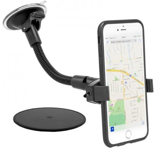 Mobile Grip 2 Windshield Suction Car Mount with 8.5