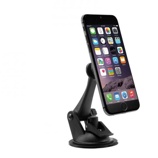 Magnetic Sticky Suction Car Phone Mount for iPhone 7, 6S and 6 Plus, 7, 6S, 6, Galaxy Note 5, S7