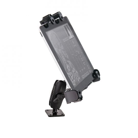 Universal Locking Tablet Mount with Key Lock for E-Log for Galaxy Tab, LG G Pad, iPad Models