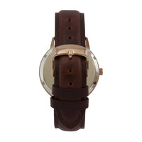 The 38mm Rose gold Frog Brown