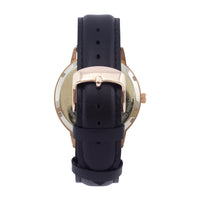 The 38mm Rose gold Butterfly Black