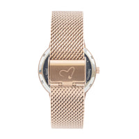 The 41mm Rose gold Frog Mesh