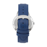 The 41mm Silver Butterfly Navy blue