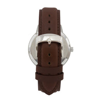 The 41mm Silver Butterfly Brown