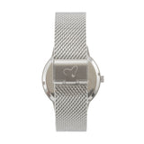 The 38mm Silver Butterfly Mesh