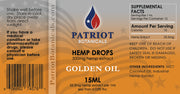 Patriot Botanicals Golden Oil