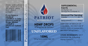 Unflavored Hemp Drops