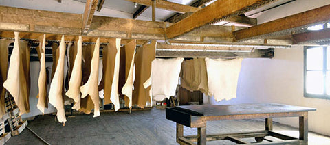 Leather Drying