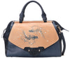 Fish Large Blue Satchel (Sold Out)