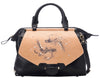 Fish Large Black Satchel