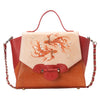Fish Small Orange Satchel