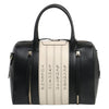 Calligraphy Black Satchel