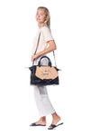 Fish Large Black Satchel (Sold Out)