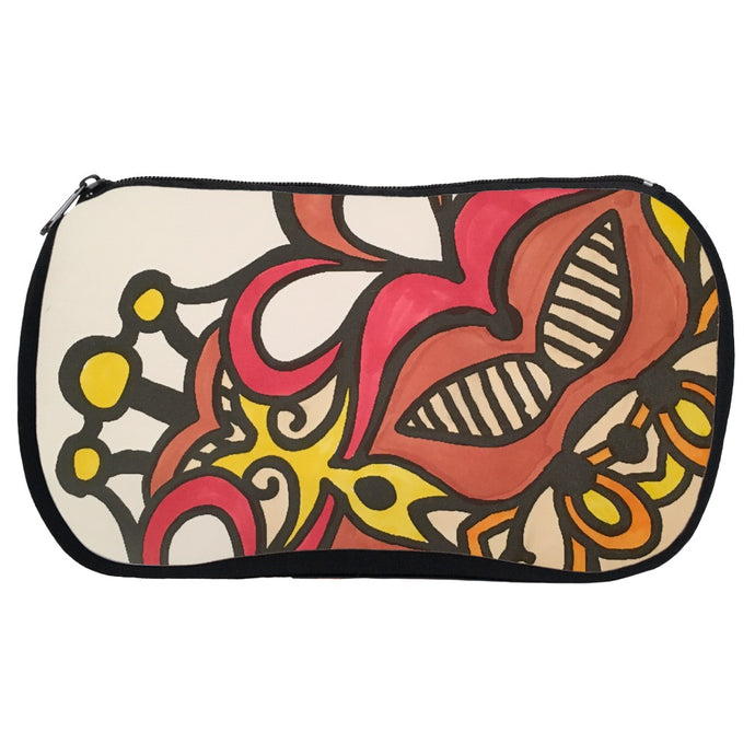You Color It - Mandala Accessory Pouch