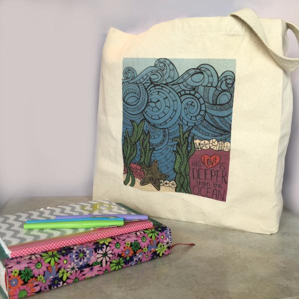 You Color It - Bible Study Tote bag
