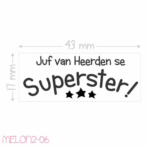 Teacher Stamp - Superster