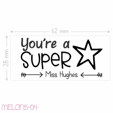 Teacher Stamp - You're a Super Star
