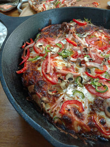 Dirty Skillet Pizza Recipe