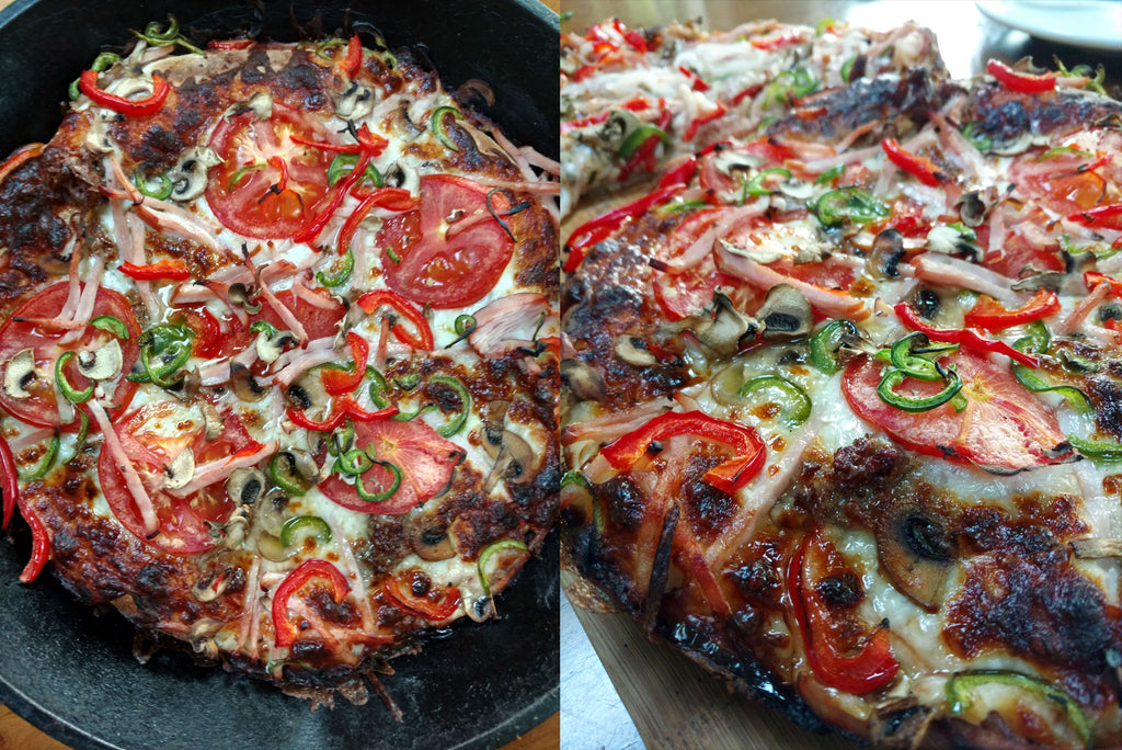 mannkitchen skillet pizza