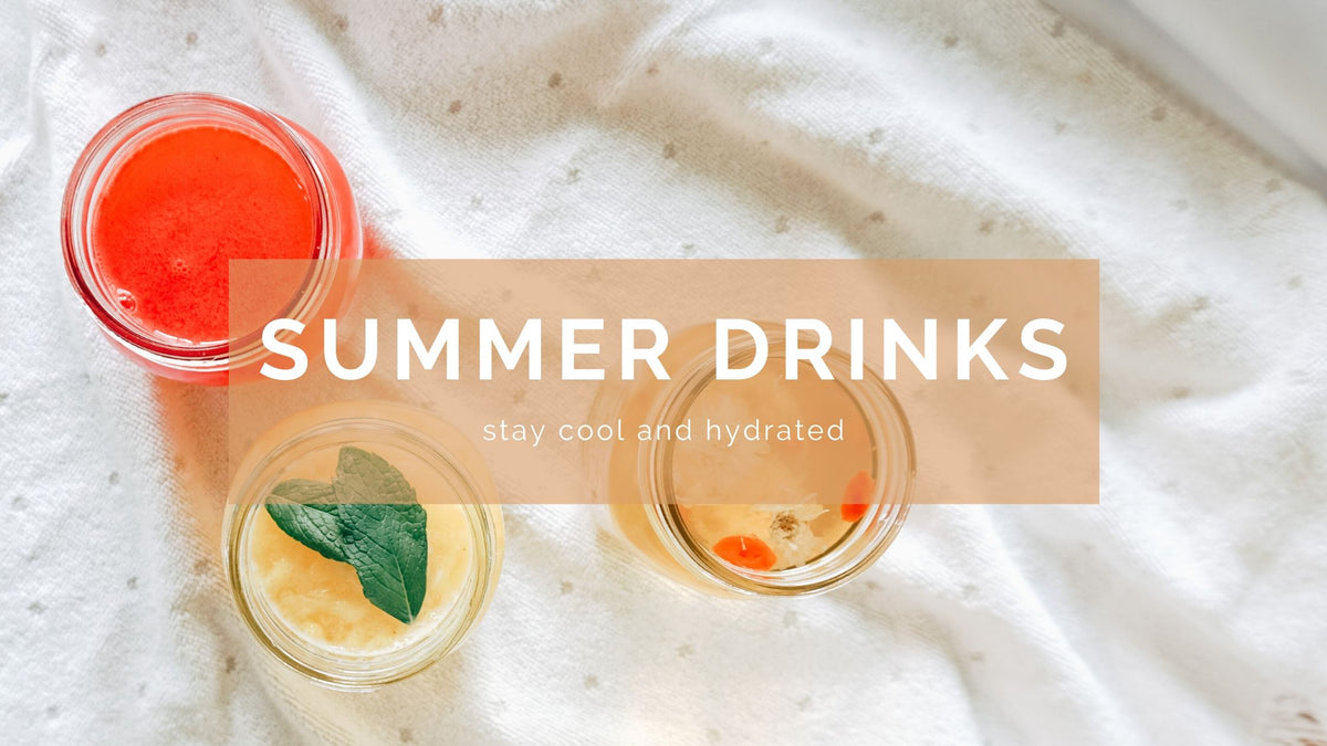 Beat the heat with these summertime cooling drink recipes