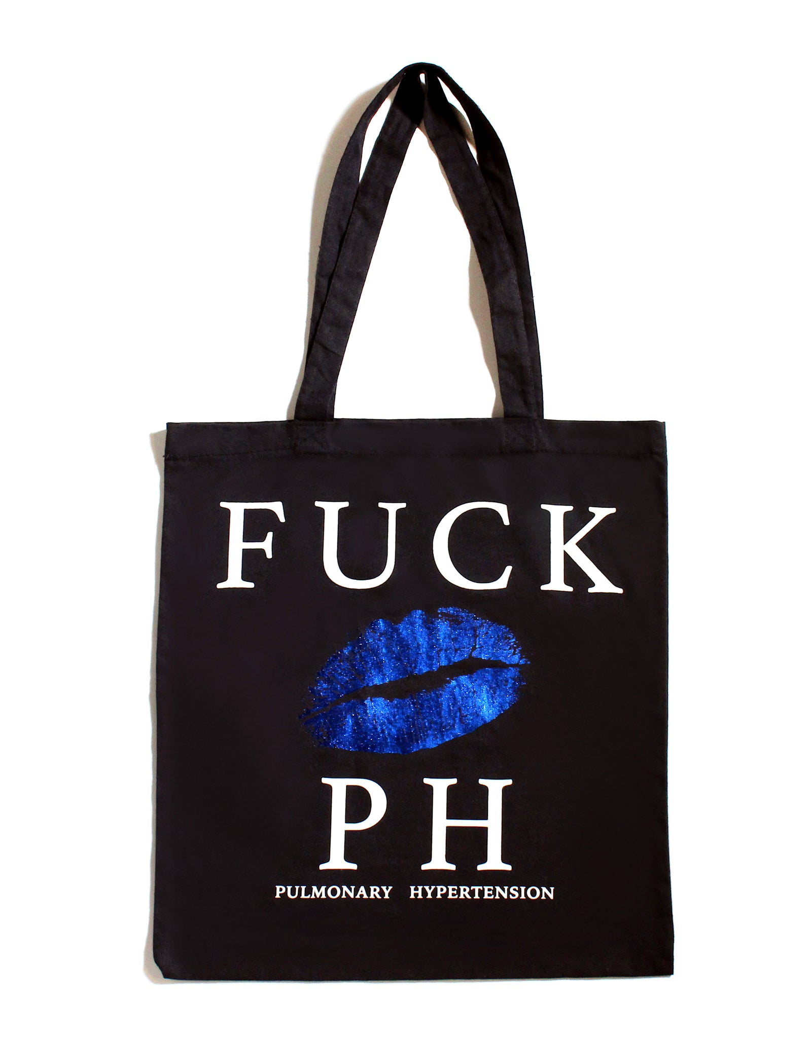 FUCK PH BIG LIPS TOTE BAG | Black